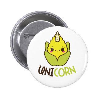 Maïs Cobb de licorne Badges
