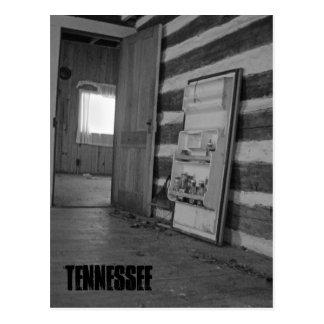 Maison abandonnée du Tennessee Carte Postale