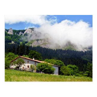 maison Basque à Aramaio Carte Postale