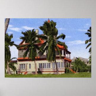 Maison Cayo Hueso Poin le plus le plus au sud de K Posters