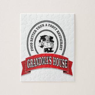 maison de grand-mamans de nourriture bonne puzzles