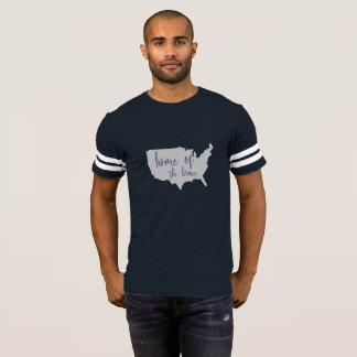 Maison de la chemise courageuse de l'Amérique 4 T-shirt