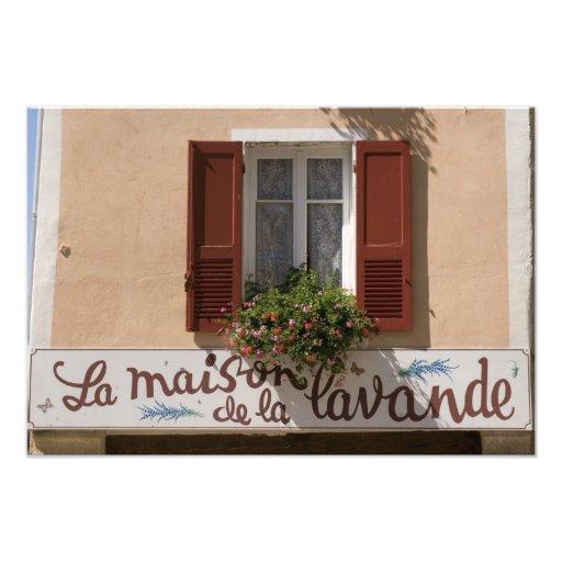 Maison de la Lavande, Place du Couwert, Impression Photo