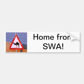 Maison de la SWA Autocollant De Voiture