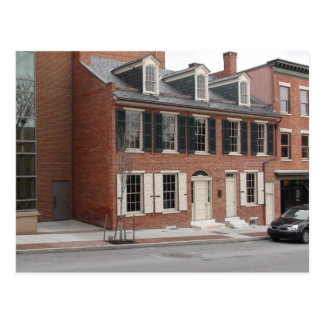 Maison de Lancaster de Thaddeus Stevens Carte Postale