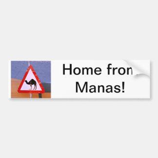 Maison de Manas Autocollant De Voiture