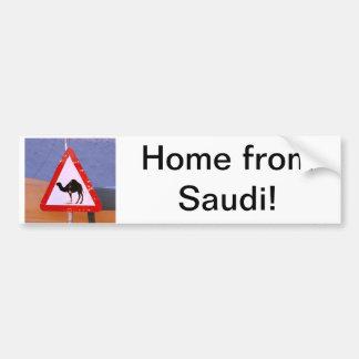 Maison de Saoudien Autocollant Pour Voiture