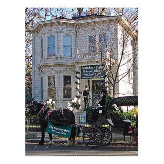 Maison de Stansbury de ~ de CARTE POSTALE