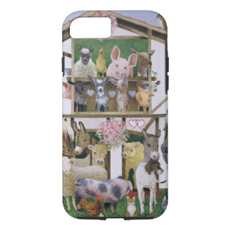 Maison de théâtre animale coque iPhone 7
