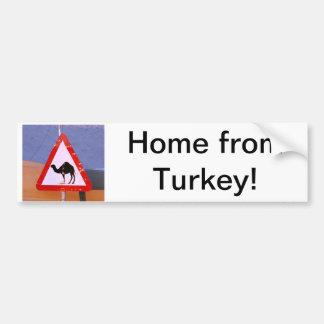 Maison de Turquie Autocollant Pour Voiture