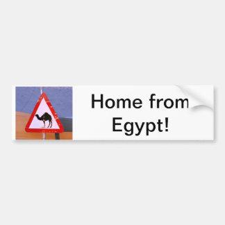 Maison d'Egypte Autocollant De Voiture
