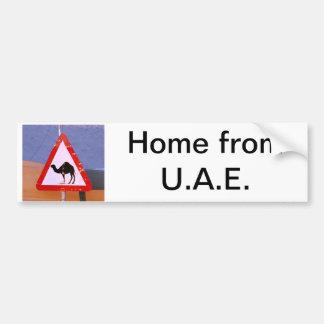 Maison des EAU Autocollant De Voiture