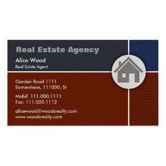 Maison des immobiliers | carte de visite standard