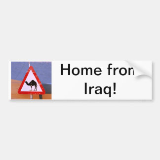 Maison d'Irak Autocollant De Voiture