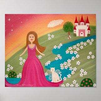 Maison douce à la maison - 8x10 princesse Castle Posters