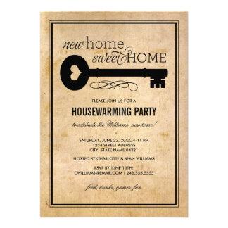 Maison douce à la maison de la partie de pendais invitation