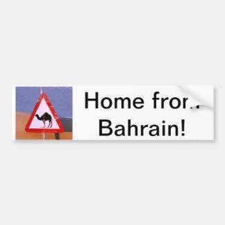 Maison du Bahrain Autocollant De Voiture