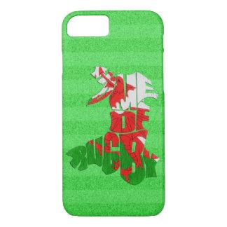Maison du Pays de Galles de cas mobile de rugby Coque iPhone 8/7