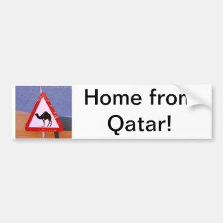 Maison du Qatar Autocollant De Voiture