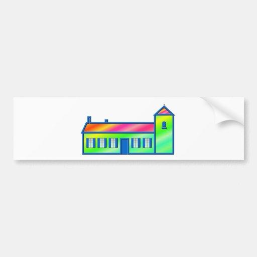 Maison - Maison Autocollants Pour Voiture