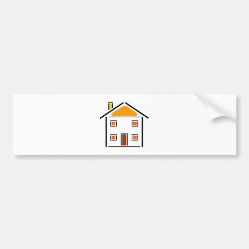 Maison - Maison Autocollant Pour Voiture
