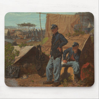 Maison, maison douce, c.1863 (huile sur la toile) tapis de souris