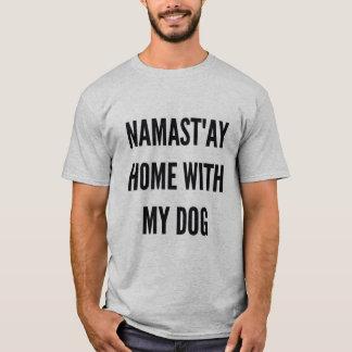 Maison namast'ay de Noël hanoukka de Noël avec mon T-shirt