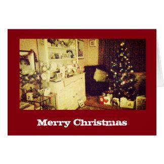 Maison pour la carte de Noël