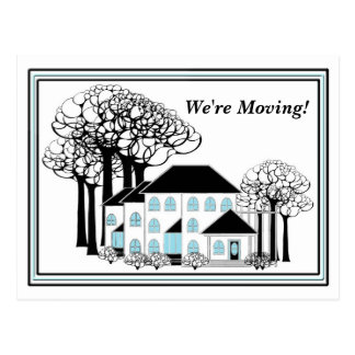 - Maisons changeantes - carte postale en mouvement