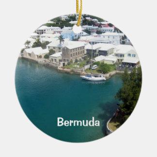 Maisons des Bermudes, Bermudes Ornement Rond En Céramique
