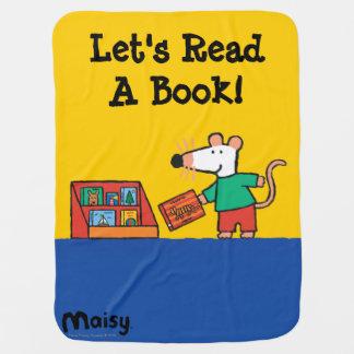 Maisy avec des livres de bibliothèque couvertures de bébé