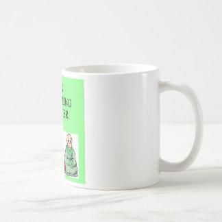 maître de natation de zen mug