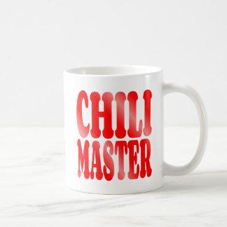 Maître de piment en rouge mug