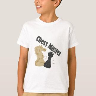 Maître d'échecs t-shirt