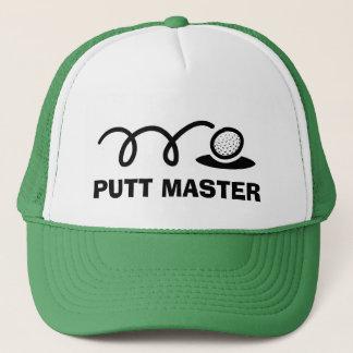 Maître drôle de putt des casquettes   de golf