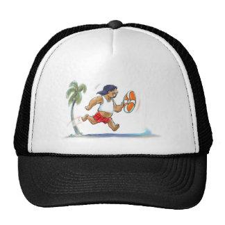 maître nageur hawaïen casquette