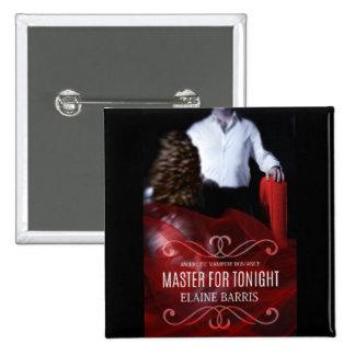 Maître pour le bouton de ce soir badges