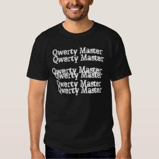 Maître QWERTY T-shirt
