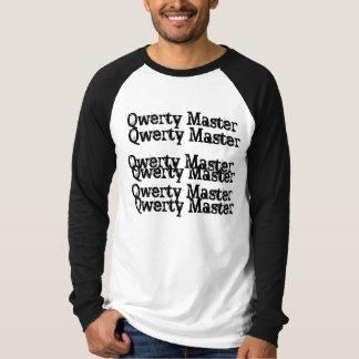 Maître QWERTY T-shirts