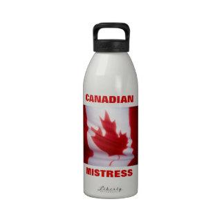 MAÎTRESSE CANADIENNE BOUTEILLES D'EAU RÉUTILISABLES