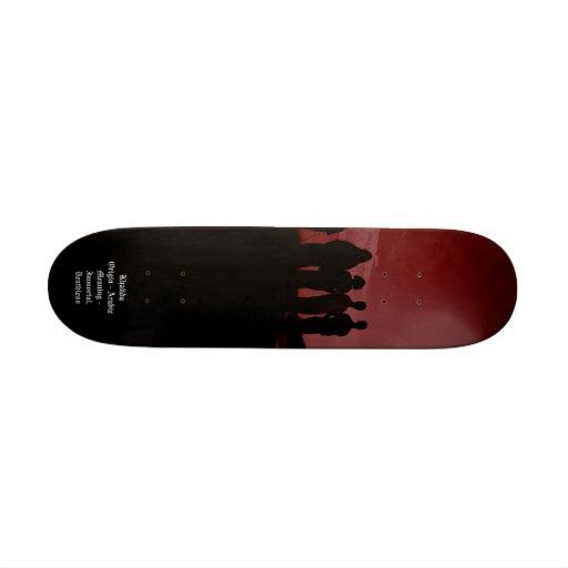 Maîtrise en planche à roulettes plateau de skateboard
