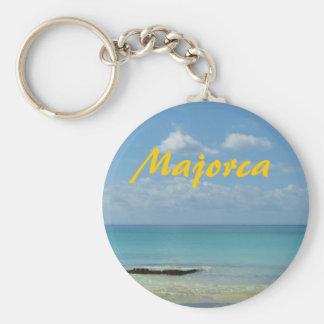 Majorca - porte - clé porte-clé rond