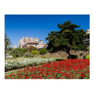 Majorque - cathédrale de carte postale de Palma