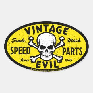Mal vintage 007A Autocollants