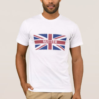 Malade -- Humour et drapeau britanniques d'argot T-shirt