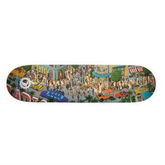 MALADES PAR RADIO D'ENTRAÎNEMENT : MAGASIN ver. de Plateaux De Skateboards Customisés