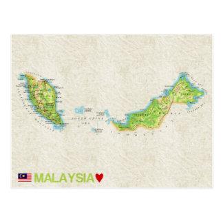 ♥ Malaisie de CARTES POSTALES de CARTE