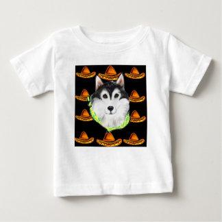 Malamute d'Alaska de CINCO De MAYO T-shirt Pour Bébé