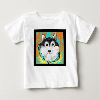 Malamute d'Alaska T-shirt Pour Bébé