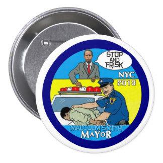 Malcolm Smith pour le maire 2013 de NYC Badges